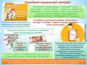 Что такое социальный контракт для малоимущих и как его получить