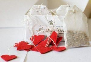 Как можно оыормить чайные пакетики для подарка