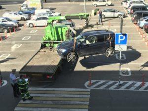 Каким законом предусмотрено эвакуация с парковки на инвалидном месте