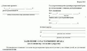 Подать заявление на развод в омске цао