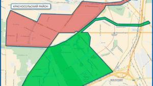 Какие муниципальные округи входят в красносельский район спб