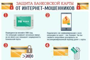 Как защитить себя от мошенников банковской картой сбербанка