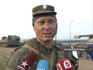 Командир полигона сергеевка