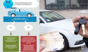 Возврат налога с продажи автомобиля