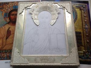 Оклад на икону своими руками