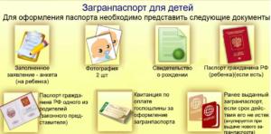 Загранпаспорт для грудного ребенка документы для получения мфц