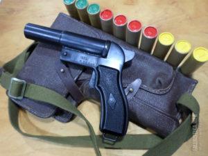 Нужно ли разрешение на пистолет ракетницу