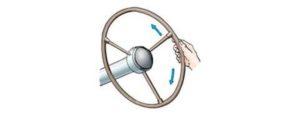 Допустимый люфт рулевого колеса хантер
