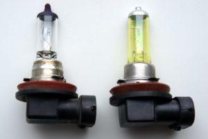 Противотуманные фары какие стоят лампочки