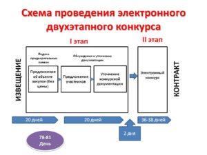 Порядок проведения конкурса с ограниченным участием в электронной форме