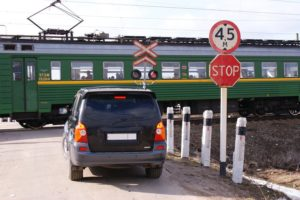 Проезд жд переезда на красный штраф
