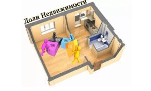 Как подарить часть квартиры маме