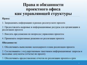 Должностные обязанности управляющего дополнительным офисом