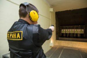 Проведение учебных стрельб в чоп
