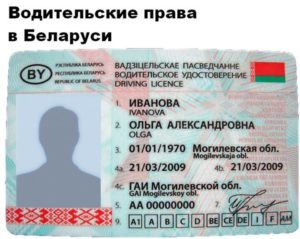 Можно ли с российскими правами ездить в белоруссии
