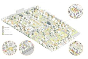 План застройки по реновации в районе черемушки