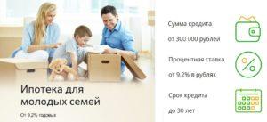 Ипотека сбербанка для молодого специалиста