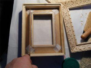 Сделать рамку для иконы своими руками