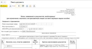 Образец описи припроверки документов при сдачи в фсс по пособиям