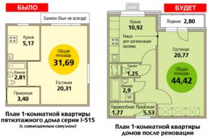 В каких случаях при реновации дают две отдельные квартиры