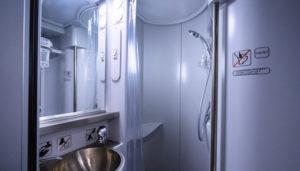 Есть ли душ в вагоне св