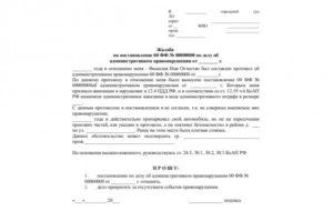 Направление на общественные работы по решению суда