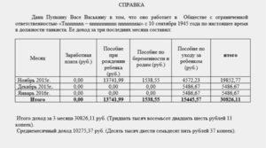 Сколько действует справка о заработной плате в соцзащиту на субсидию