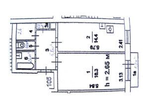 Как подсчитывается площадь дома в бти