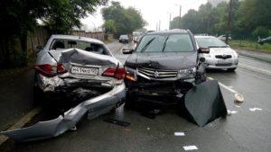 Виновен на служебном автомобиле в дтп