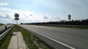 Максимально разрешенная скорость на трассе м7