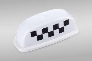 Белый цвет шашки для такси можно