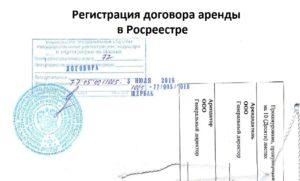 Договор аренды для регистрации в росреестре