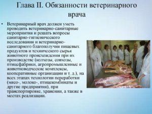 Должностная инструкция ветеринарного санитара цеха животноводства