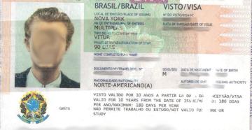 Виза для бразильцев в россию