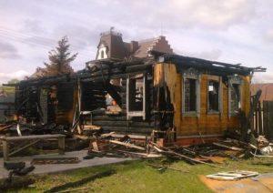 Можно ли строить дом на месте сгоревшего дома