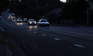 Езда без света ночью штраф