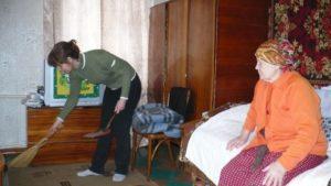 Помощь пожилым на дому слциальная