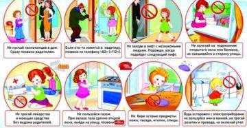 Безопасное поведение дома